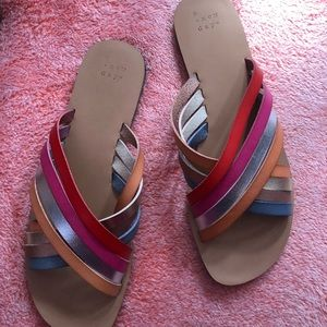 A New Day - Multi Color Sandals